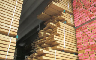 International wood export