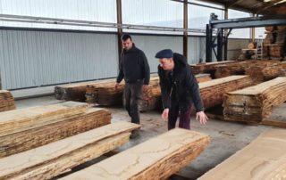 Export bois