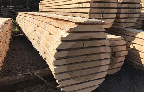Reconstitued unedge oak